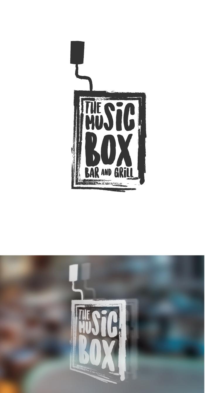 the music box, music, box, diana petrarca, graphic design, grafica, logo, progettazione, work