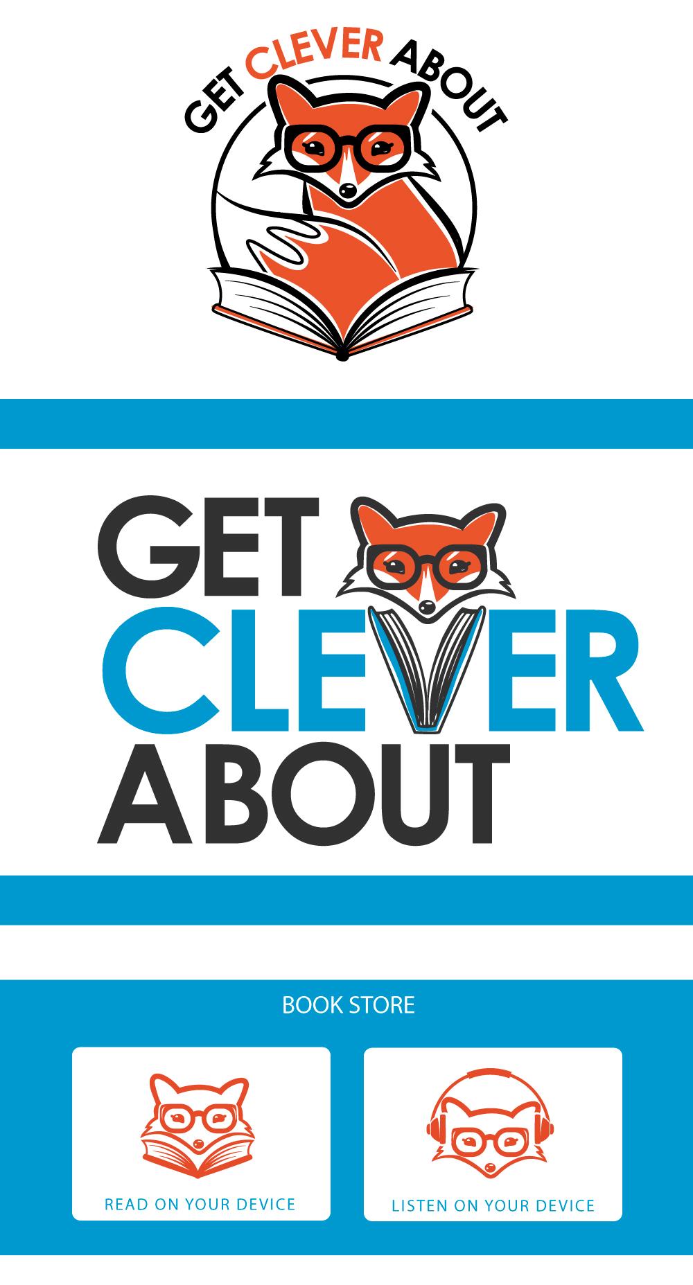 Get Clever About, Diana Petrarca, lili wexu, project, volpe, fox, graphic, design, logo, web, arancione, disegno, illustrazione, social